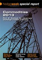 Commodities 2013 Part 2: Outlook for funds and exchange traded products