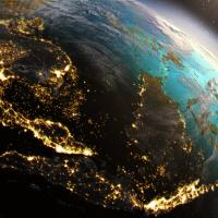 South East Asia from space